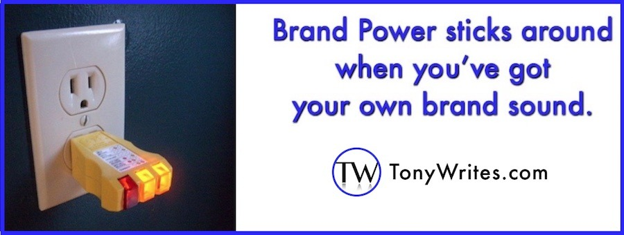 Brand power - that's what you get with personalized audio
