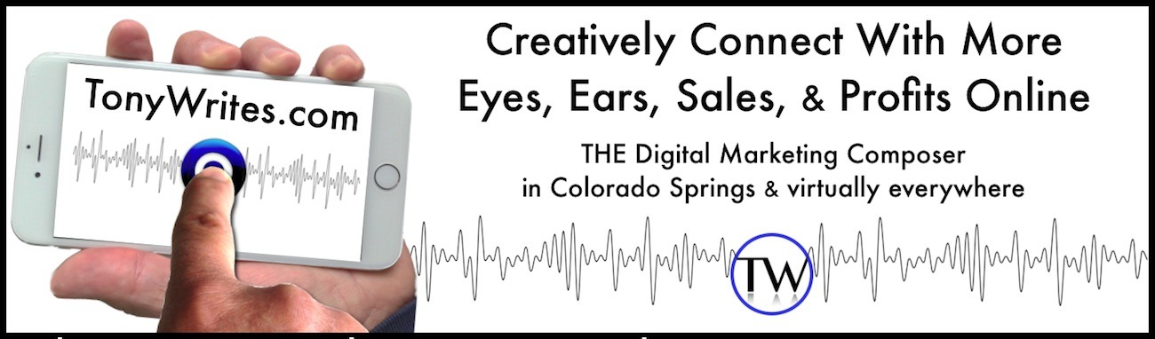 Digital Marketing Consultant in Colorado Springs and Virtually Anywhere