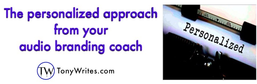Personalized approach from your audio branding coach