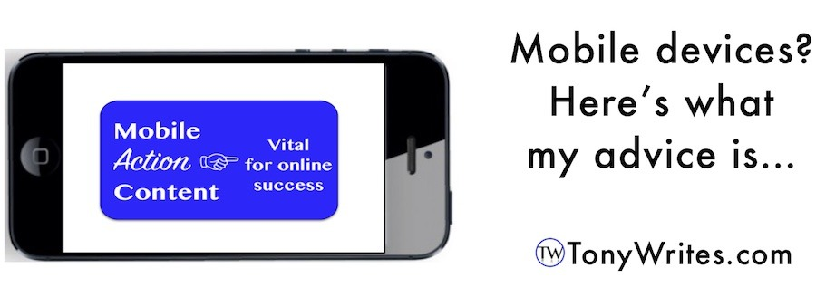 Mobile devices advice from the creative digital marketing consultant in Colorado Springs
