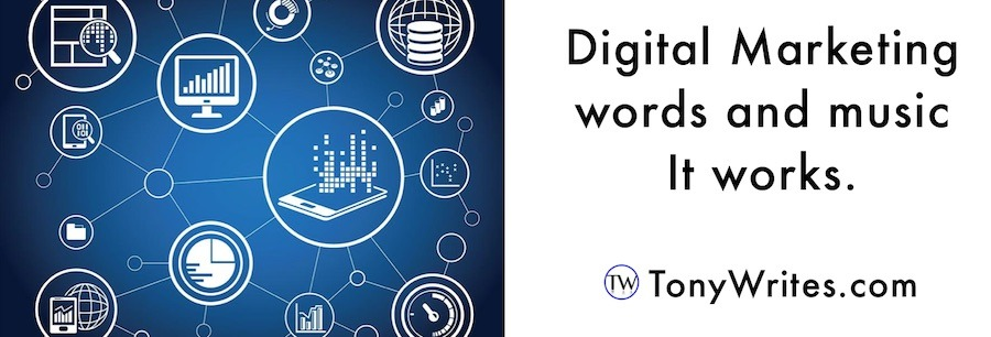 Digital marketing words and music - it works.